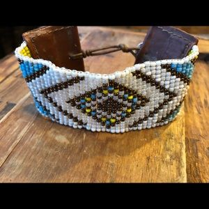 Beaded Boho Western Bracelet